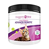 Doggone Best Products Cat Probiotics - Helps with Diarrhea and Constipation - All Natural Powder - Can Help Gas, Digestive Issues and Bad Breath - 8 oz - Made in The USA