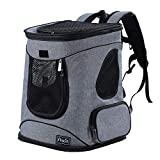 Petsfit Sturdy Cat Carrier Backpack for Pets up to 16LB