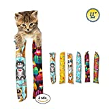 11' Catnip Kicker Toys - Set of 2 Cat Kickers