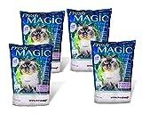 FreshMAGIC Large Chunk Style Crystal Cat Litter, 8 lb. Bag, 4-Pack