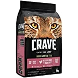 Crave Grain Free With Protein From Chicken & Salmon Dry Indoor Adult Cat Food, 4 Pound Bag