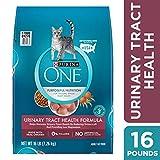 Purina ONE Urinary Tract Health Dry Cat Food, Urinary Tract Health Formula - 16 lb. Bag