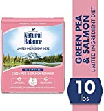 Natural Balance L.I.D. Limited Ingredient Diets Dry Cat Food, Green Pea & Salmon Formula, 10 Pounds, Grain Free